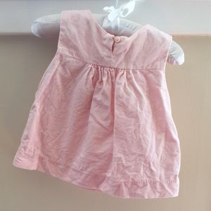 OshKosh Baby Girl Light Pink Corduroy Dress